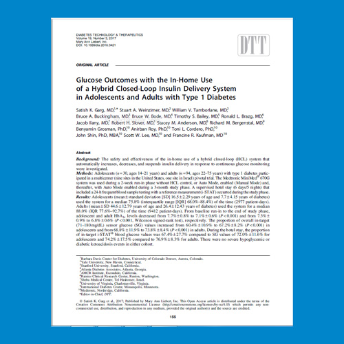 Medtronic Diabetes HCP - Evidence and clinical studies
